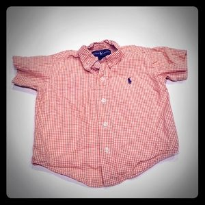 🔥 18m short sleeve button up polo